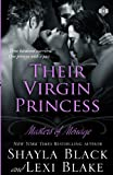 Their Virgin Princess: Masters of Ménage, Book 4